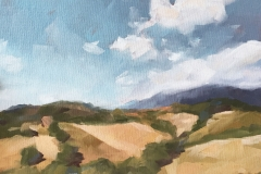 TUSCANY, 2017, oil paint, 14 by 11in.