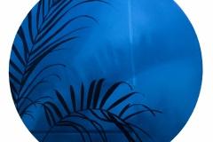 BLUE, 2021, oil paint, 20 in.